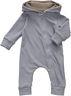 Xifamniy Infant Unisex Baby Autumn Romper Cotton Sika Deer Shape Hooded Jumpsuit