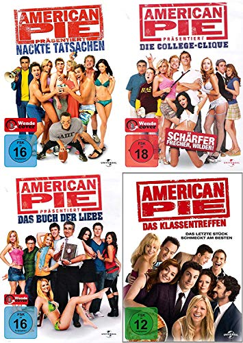 American Pie 5 + 6 + 7 + 8 Collection (4-DVD)