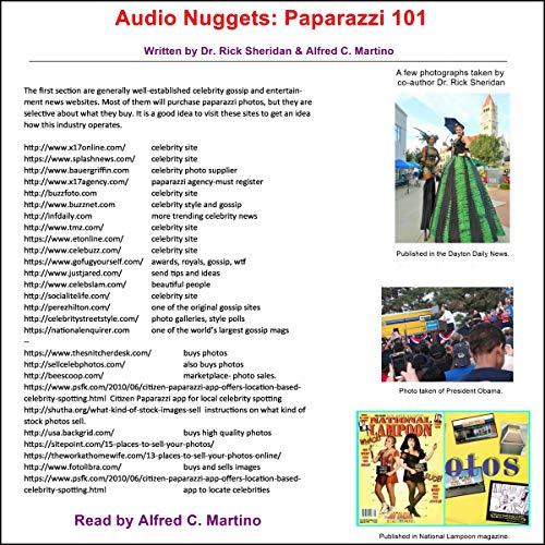 Audio Nuggets: Paparazzi 101 audiobook cover art
