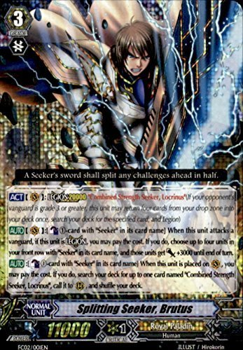 Cardfight!! Vanguard TCG - Splitting Seeker, Brutus (FC02/001EN) - Fighter's Collection 2014 by Cardfight!! Vanguard TCG