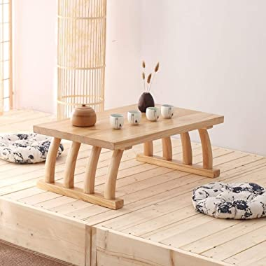 Small Coffee Table in Living Room Solid Coffee Table Japanese Style Tea Table Home Low Table Outdoor Small Table (Color : B,