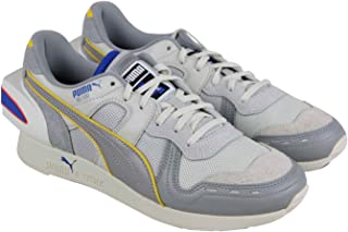 PUMA RS-100 Ader Error Mens Gray Textile/Leather Low Top Sneakers Shoes 10