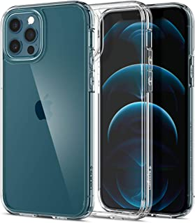 Spigen Ultra Hybrid designed for iPhone 12 case and iPhone 12 PRO case/cover (6.1 inch) - Crystal Clear