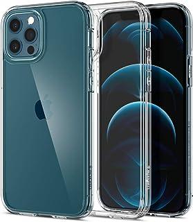 Spigen Ultra Hybrid Designed for Apple iPhone 12 Case (2020) / Designed for iPhone 12 Pro Case (2020) - Crystal Clear (ACS...