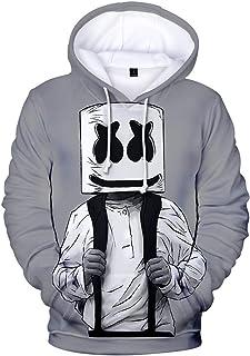 FLYCHEN Sudadera para Niños Estilo 3D Impresión Gráfica Sonido Eléctrico Cool Manga Larga Suéter Adolescentes Pullover