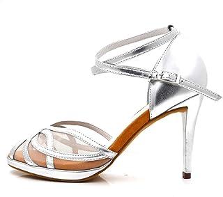 70463be979e Dance Shoes Women 3 Colors Satin Salsa Ballroom Latin Dance Shoes  Black Gold Silver