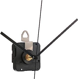 Hicarer 28 mm Mouvement d'Horloge à Quartz d'Arbre Long Kit de Réparation de Pièces d'Horlogerie (Noir)