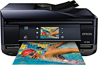 Epson C11CC41201 Wireless Color Photo Printer with Scanner, Copier & Fax