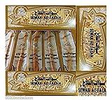 10 Al Falah Siwak Meswak Miswak Miswak Arak Peelu Al-Falah Chewing Stick Natural Flavored Organic Herbal Brush Teeth Cleaning Toothbrush Vacuum Sealed Whitening Breath Freshener (Ten Tooth Sticks)
