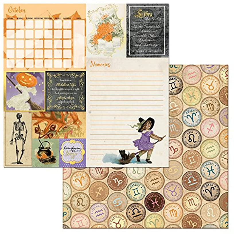 Bo Bunny 22501255 On This Day Scrapbooking Paper 25 Piece