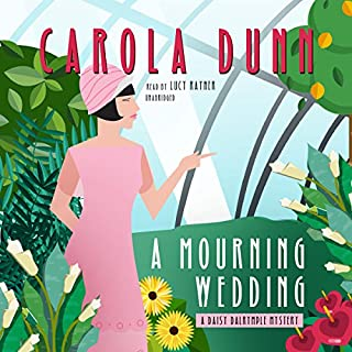 A Mourning Wedding audiobook cover art