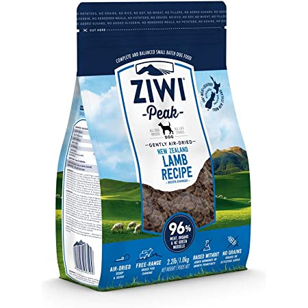 ZIWI Peak Air-Dried Dog Food – All Natural, High Protein, Grain Free and Limited Ingredient with Superfoods