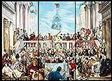 Heiwu Puzzle 1 000 pcs Puzzle Rompecabezas Salón de la Gloria del Mundo de los...