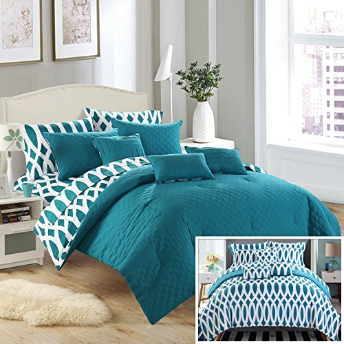 Teal Queen Comforter Amazon Com