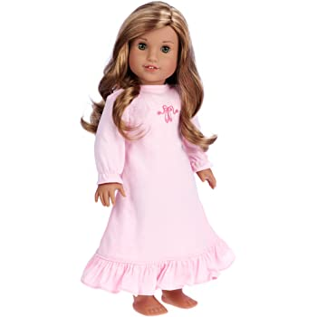 Pink Top Brown Leggings and Pink Winter Boots DreamWorld Collections 3 Piece Outfit Clothes Fits 18 Inch American Girl Doll Dolls not Included Sweet Pea