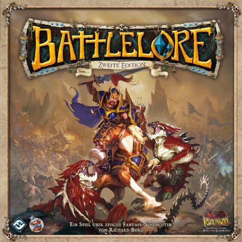 Asmodee HEI0800 - Battlelore 2. Edition, Brettspiel
