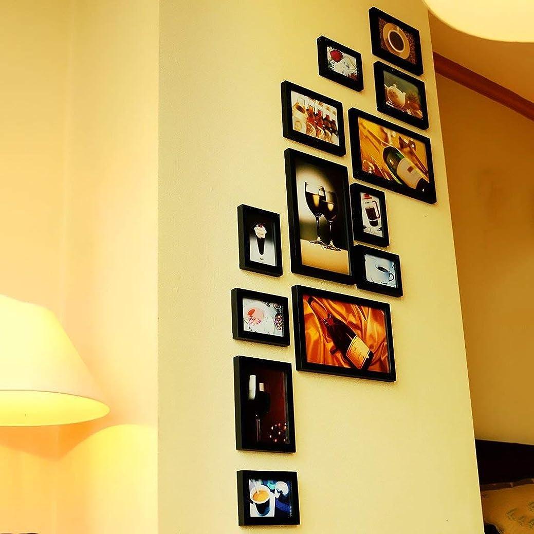アフリカかんがいデマンドYCT 純木の写真壁の創造的な写真フレームの組み合わせ写真の壁の垂直方向と水平方向のモデル - フォトフレームの組み合わせ