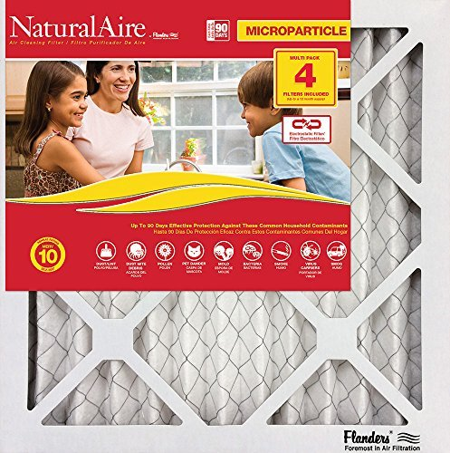 24x24x1 84858.012424 Naturalaire Standard Air Filter Merv 8 Pack12 by NaturalAire