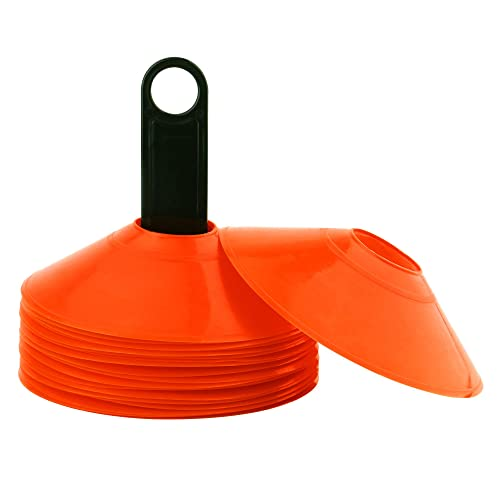 Crown Sporting Goods SCOA-11 Set of 12 Two-Inch Tall Orange Field Cones