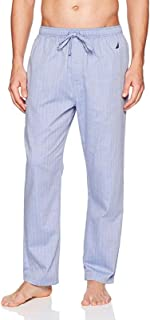 Men's Soft Woven Pajama Pant (Blue Bone, 2XLT Tall)