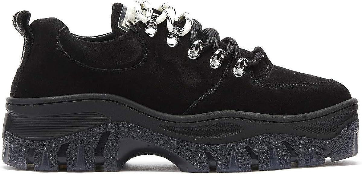 Bronx Jaxstar Donna Nero Platform Hiker Sneaker Nero