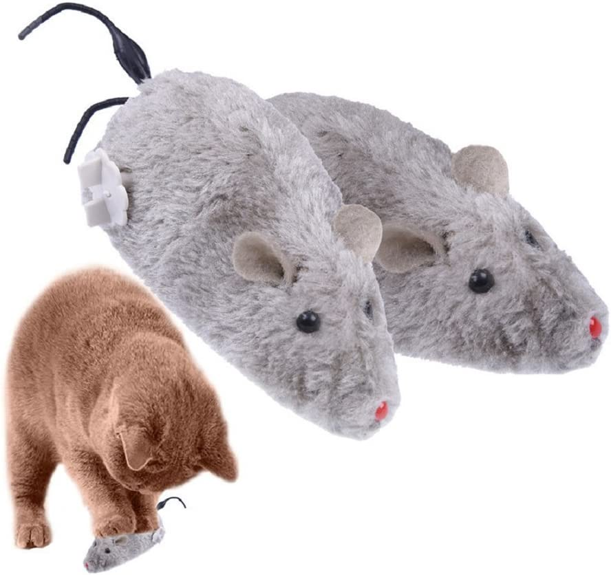 Branded goods 2017 Clockwork Mouse Toy for Cat Plush Pet Cute Rat Animals Tampa Mall Dog