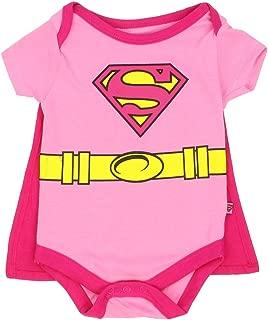 supergirl baby onesie