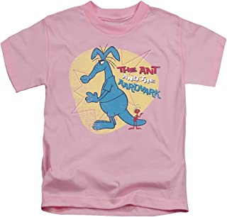 Pink Panther Ant and Aardvark Unisex Youth Juvenile T-Shirt for Girls and Boys