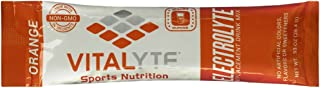 Vitalyte Electrolyte Powder Sports Drink Mix, 25 Single Serving Packets, Natural Electrolyte Replacement Supplement for Rapid Hydration & Energy - Orange