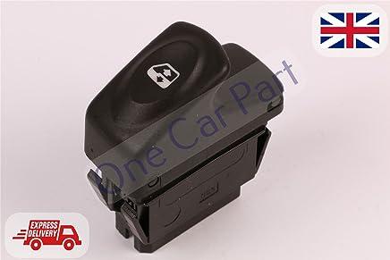 6 Pins Eléctrico Master Ventana Interruptor de control para Clio II, MEGANE I Kangoo
