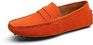 Size 49 Men Casual Shoes Fashion Men Shoes Genuine Leather Men Loafers Moccasins Slip On Men's Flats Male Driving Shoes