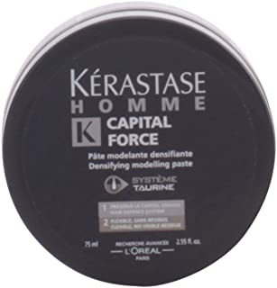 Kerastase Homme Capital Force Densifying Modeling Paste for Men, 2.55 Ounce