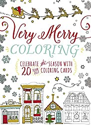 Verry Merry Coloring Cards