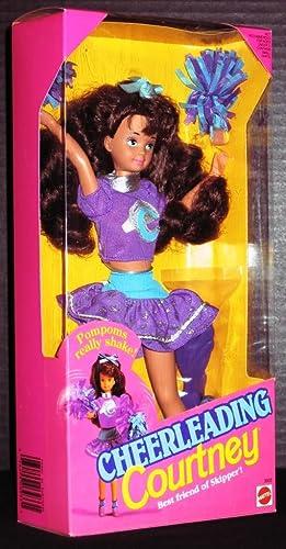 Cheerleading Courtney Barbie Doll 1992 Mattel
