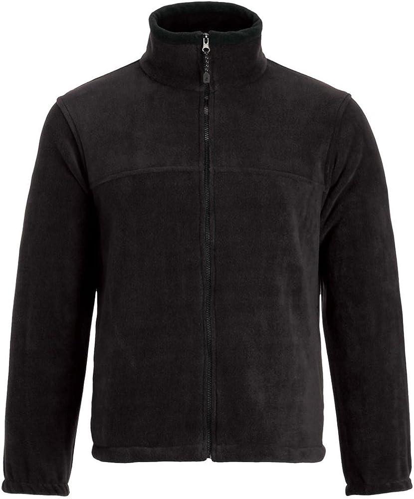 Landway Men's Heavyweight Full Zip Popularity Dedication Fleece Jacket