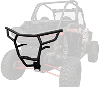 SuperATV Heavy Duty Rear Bumper for Polaris RZR XP 1000 / XP 4 1000 (2019+) - Black