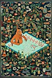 BoJack Horseman Series Poster Matte Finish Paper Print (Multicolor) G-3834