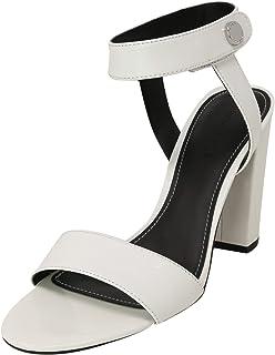 حذاء KENDALL + KYLIE نسائي من الجلد عالي الكاحل مقاس M