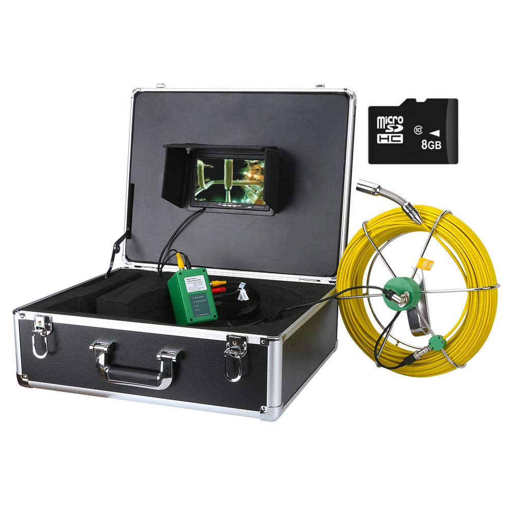 AMOCAM Ranking TOP11 30M 100ft Pipe Sewer Max 43% OFF Camera Industrial Drain Inspection