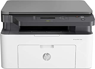 HP Laser MFP 135a Print, Copy, Scan, Multi-Functional All in One Office Printer, 4ZB82A - White