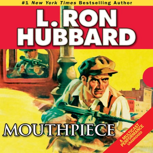 Mouthpiece audiobook cover art