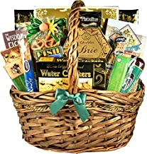Gift Basket Village Fishing Gift Basket with Gourmet Snacks to Enjoy While Fishing - A Gift Basket for the Fishermen in Your Life