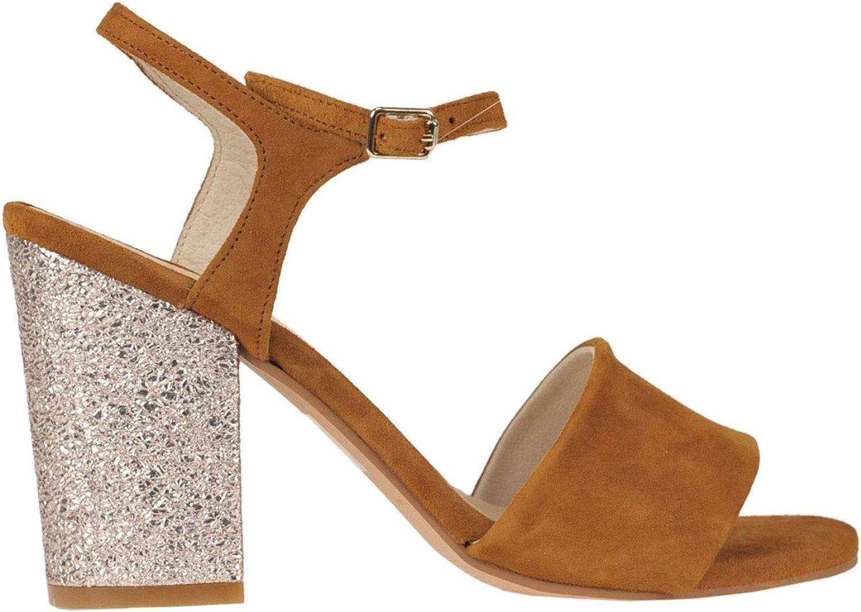 HELIA Luxury Fashion Damen MCGLCAT000005076E Braun Absatzschuhe   Jahreszeit Outlet
