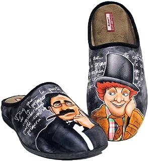 Zapatillas cómodas Andar por casa inspiradas en Hermanos Marx