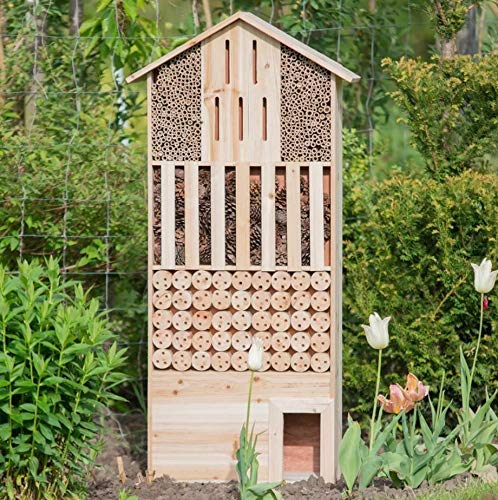 Insektenhotel XXL inkl. Igelhaus - 4