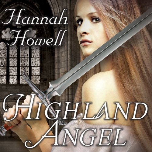 Highland Angel audiobook cover art