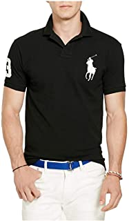 Polo Ralph Lauren Mens Custom Fit Big Pony Logo Polo Shirt