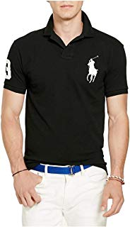 Polo Ralph Lauren Mens Custom Fit Big Pony Logo Polo Shirt