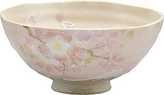 京焼 清水焼 瑞光窯 飯碗 小 桜に富士 ピンク 12cm LZS592-02