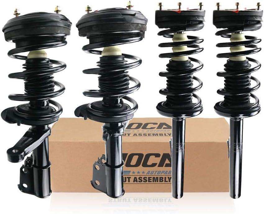 激安価格と即納で通信販売 MOCA 宅配便送料無料 Complete Set 4pcs Front Rear Strut Shock Spring Coil As